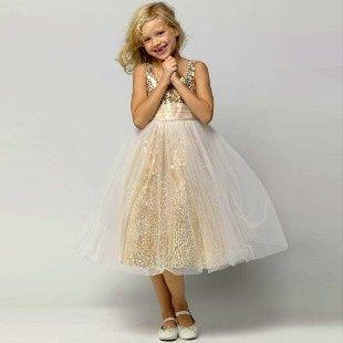 Inspirações para o Mês Dourado: Vestidos para Daminhas 12