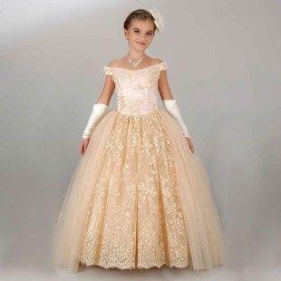 Inspirações para o Mês Dourado: Vestidos para Daminhas 17
