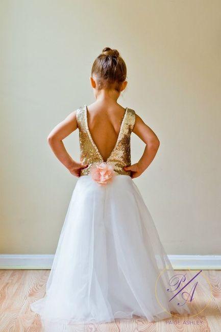 Inspirações para o Mês Dourado: Vestidos para Daminhas 21