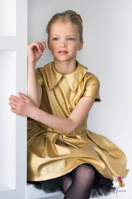 Inspirações para o Mês Dourado: Vestidos para Daminhas 24