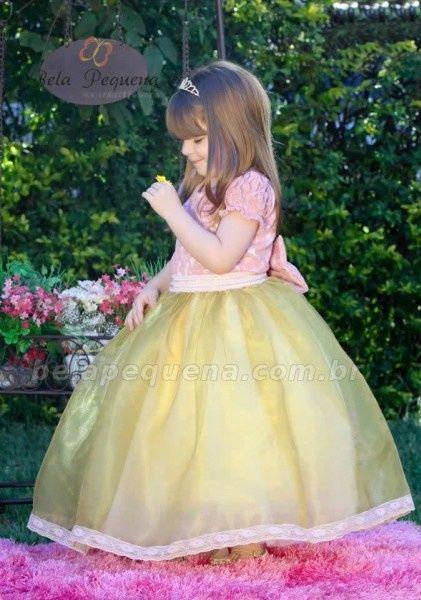 Inspirações para o Mês Dourado: Vestidos para Daminhas 25