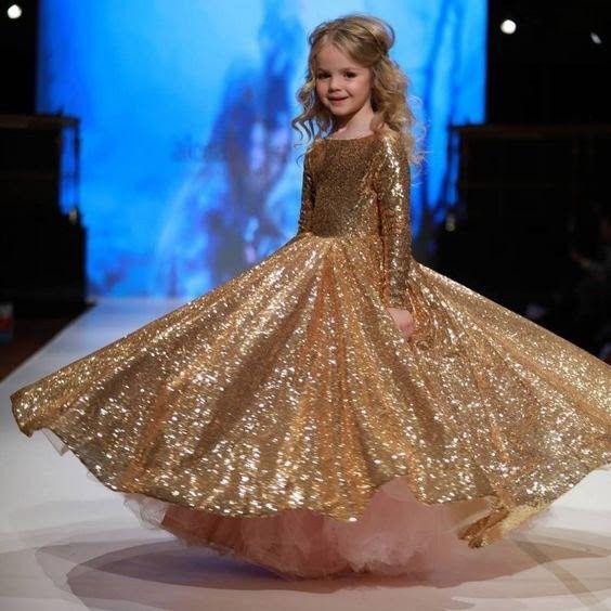 Inspirações para o Mês Dourado: Vestidos para Daminhas 32