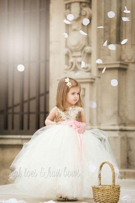 Inspirações para o Mês Dourado: Vestidos para Daminhas 33