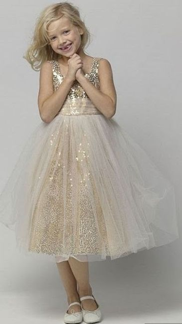 Inspirações para o Mês Dourado: Vestidos para Daminhas 35