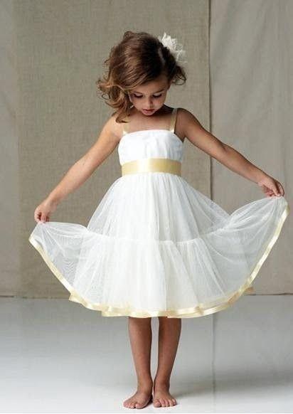Inspirações para o Mês Dourado: Vestidos para Daminhas 37
