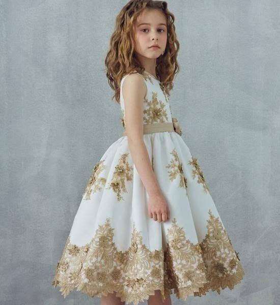 Inspirações para o Mês Dourado: Vestidos para Daminhas 39