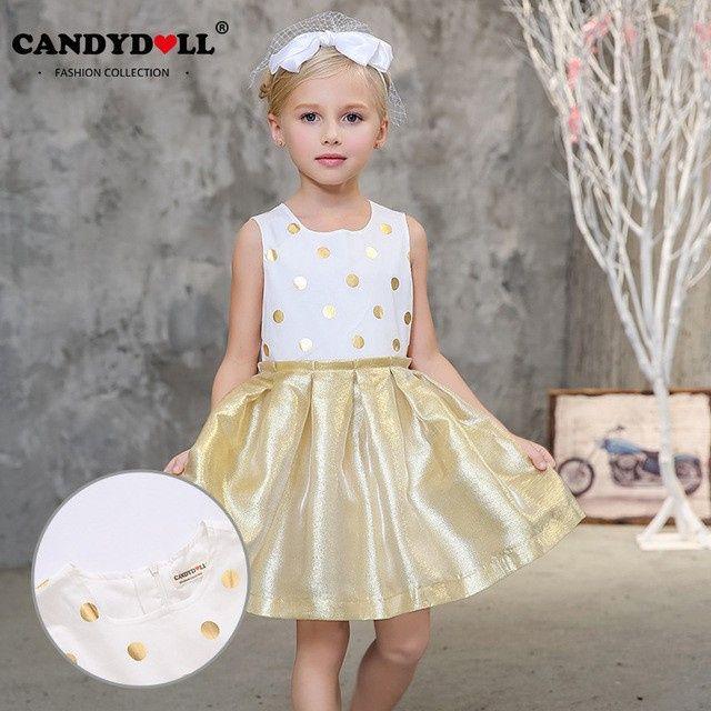 Inspirações para o Mês Dourado: Vestidos para Daminhas 40