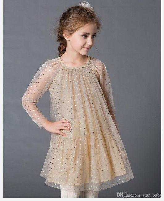 Inspirações para o Mês Dourado: Vestidos para Daminhas 42