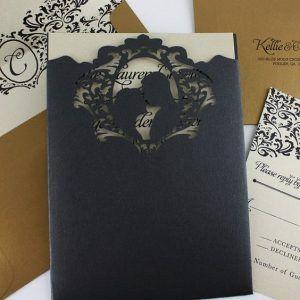 Inspirações para o Mês Preto: Convites 4
