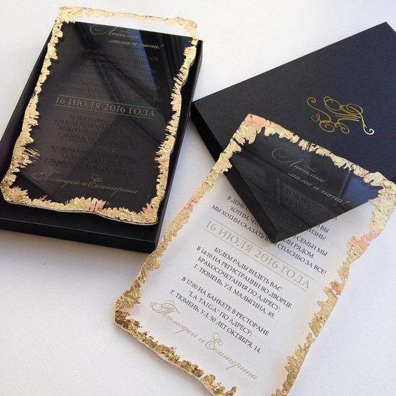 Inspirações para o Mês Preto: Convites 21