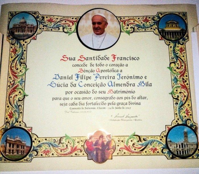 Bênção papal 2