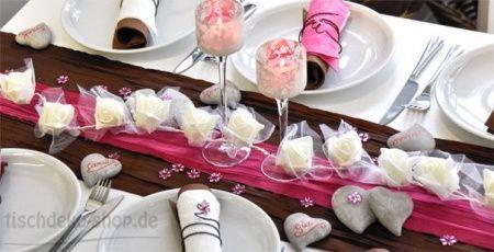 Tema chocolate ajuda - Hochzeitsdeko grau rosa ...