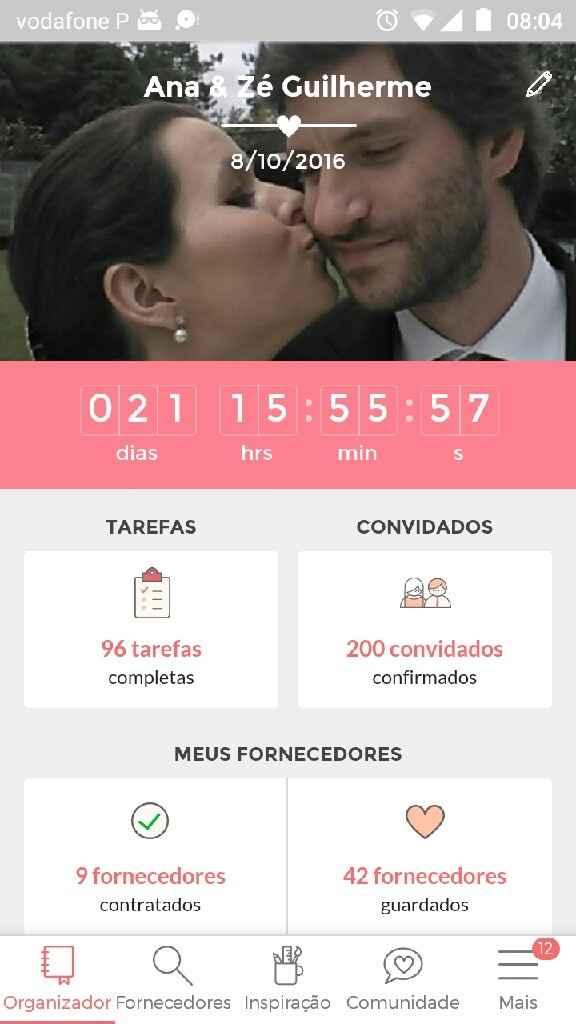 1 ano de noivado! - 2