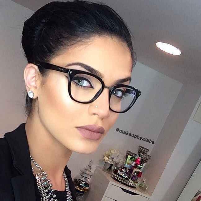 Inspirações maquilhagem noivas de óculos - 2