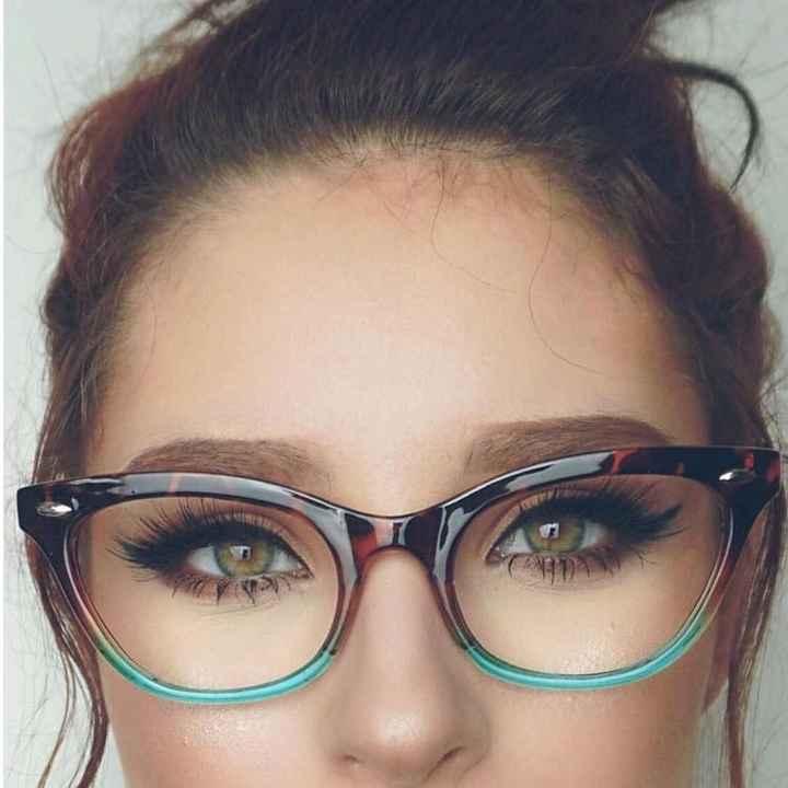 Inspirações maquilhagem noivas de óculos - 3