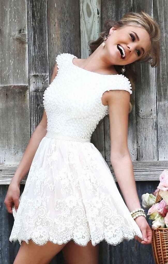 Segundo vestido para o grande dia! 😊 - 1