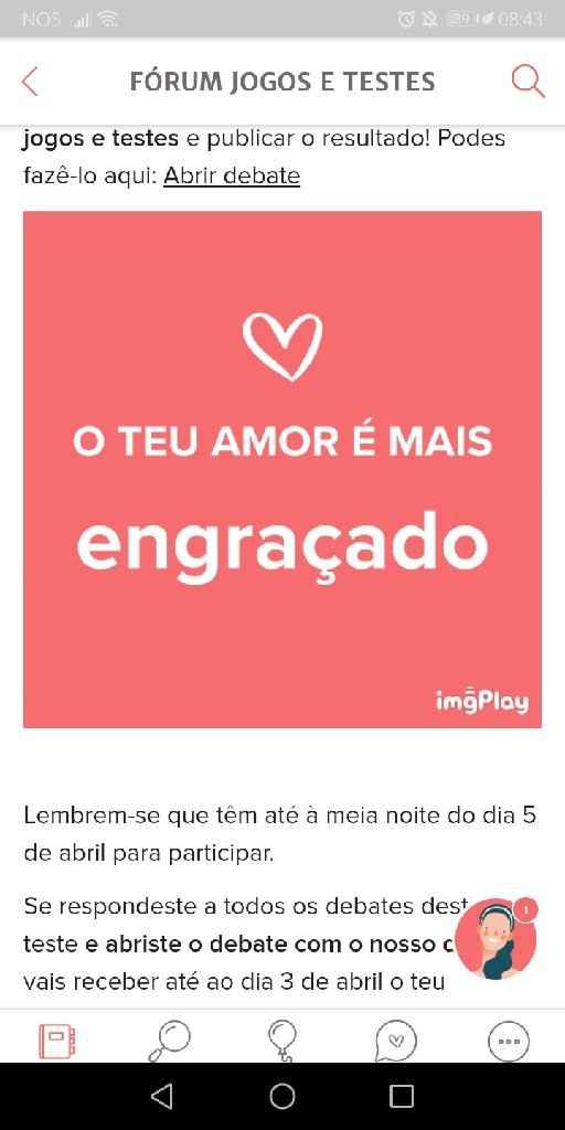 o meu amor é... - 1