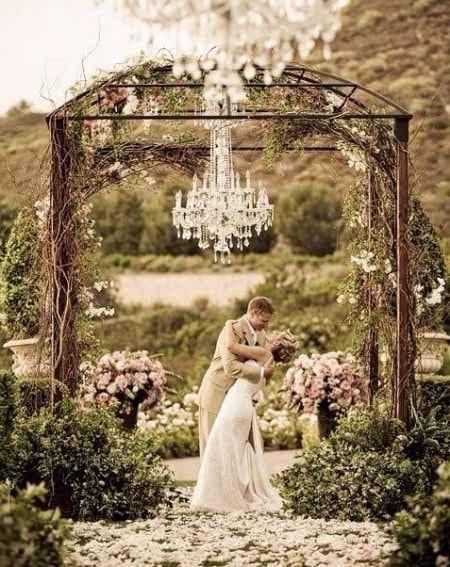 Quintas Boho Rústica - Casamento ao ar livre 1