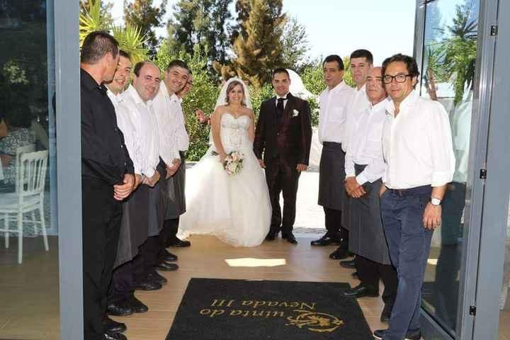 Casamento de sonho... até a grande tristeza ... - 8