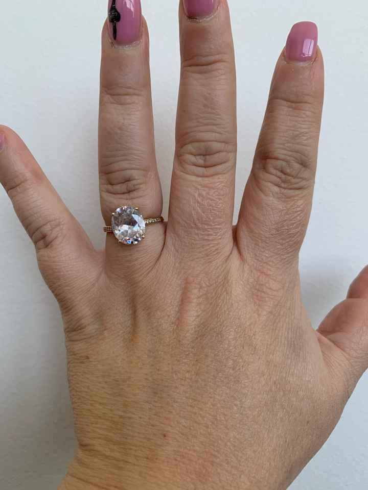 o meu anel de noivado - 1