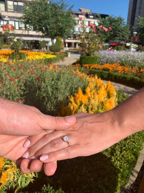 Boa noite :) Adorava ver os vossos anéis de noivado :) Quem quer partilhar? 14