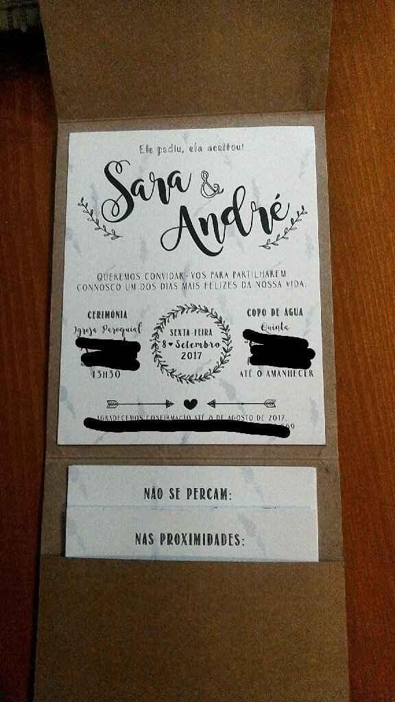 Os nossos convites!! 😊 - 6