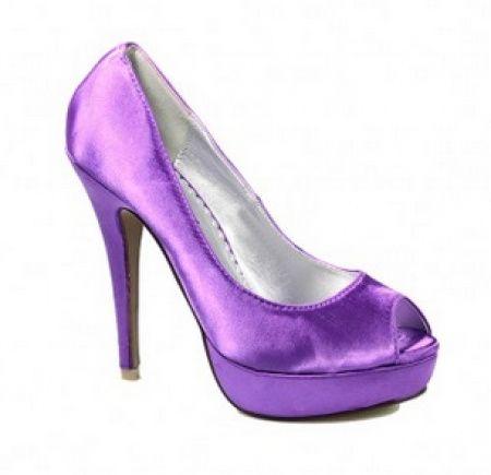 Sapatos Lilás