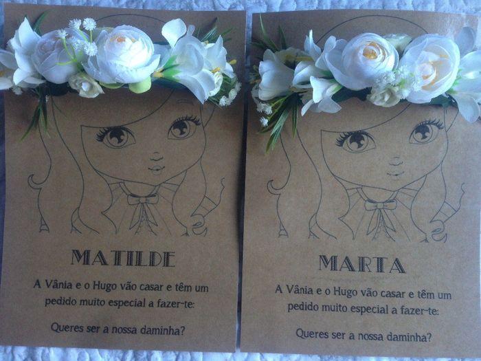 Convites Daminhas e Pagens 3
