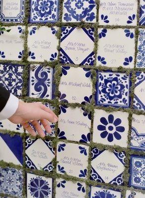 Um casamento à Portuguesa com certeza - azuleijos 9