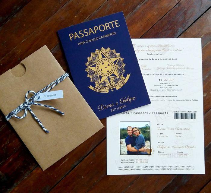 Convites passaporte 2