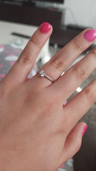 Boa noite :) Adorava ver os vossos anéis de noivado :) Quem quer partilhar? 8