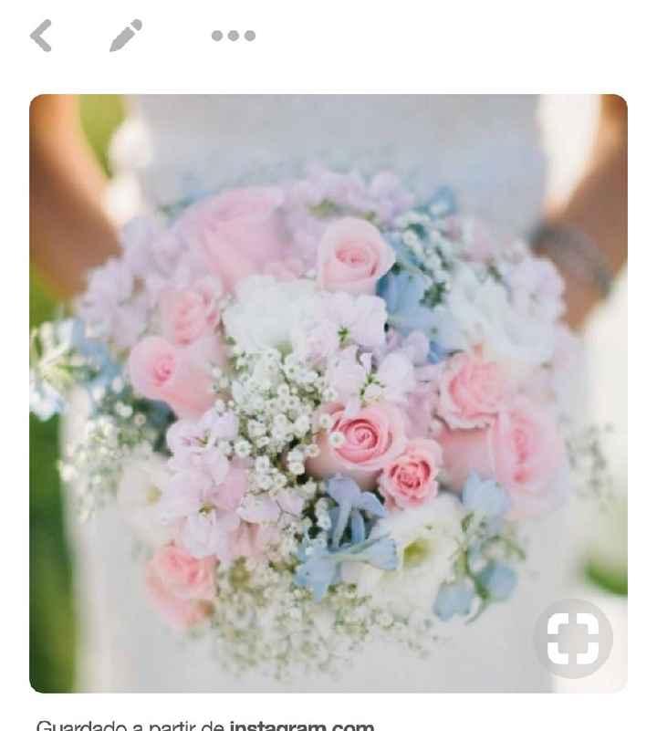 Inspirações: 7 Bouquets em tons azuis - 3