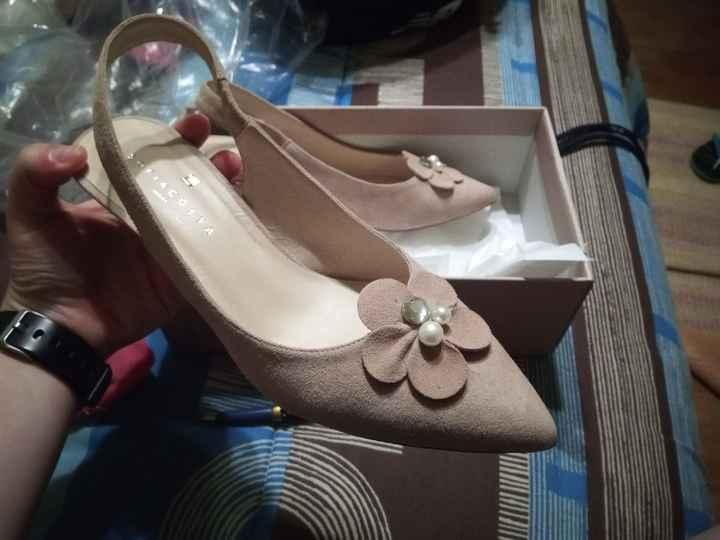 Sapatos quase rasos - problema de alturas - 1