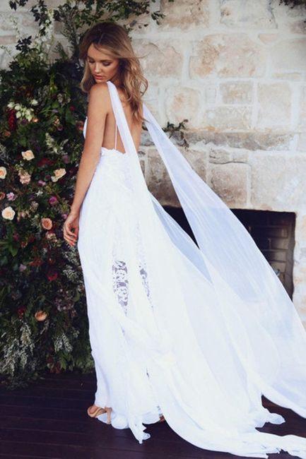 Vestido de noiva mais popular do pinterest - 2