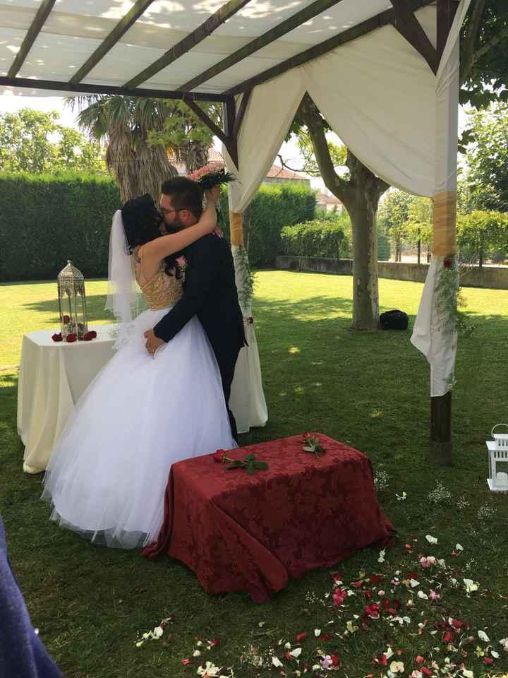 Casados de fresco ❤️ - 2