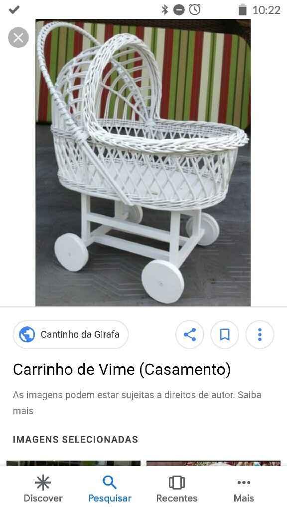 Carrinho de bebe - 1