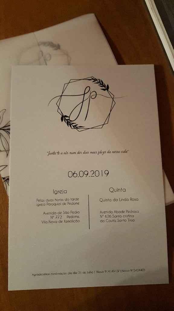Convite de casamento ♡ - 2