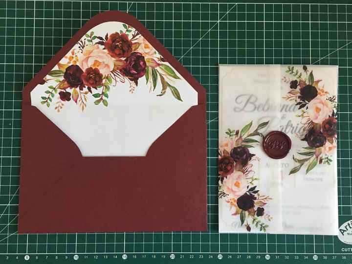 a cor do meu casamento: Burgundy e Blush - 9