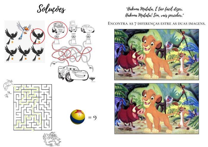 Lembranças Crianças - Livro de Actividades 2