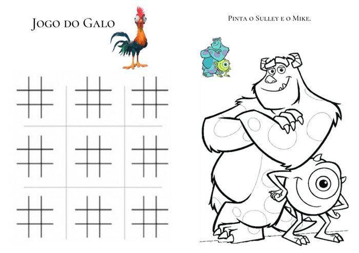 Lembranças Crianças - Livro de Actividades 5