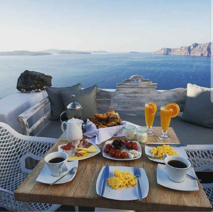Santorini em maio - 2