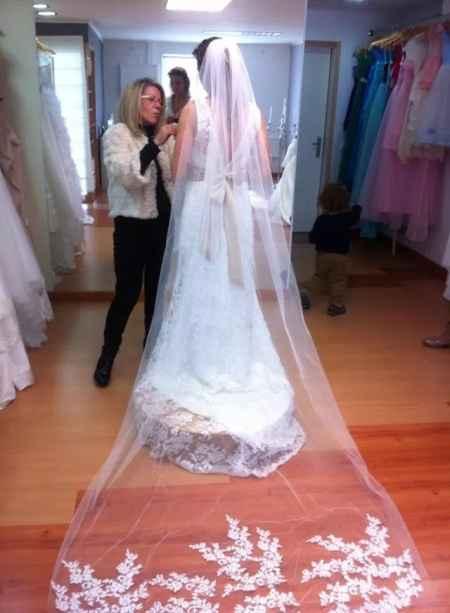 Vestido noiva reservado - 1