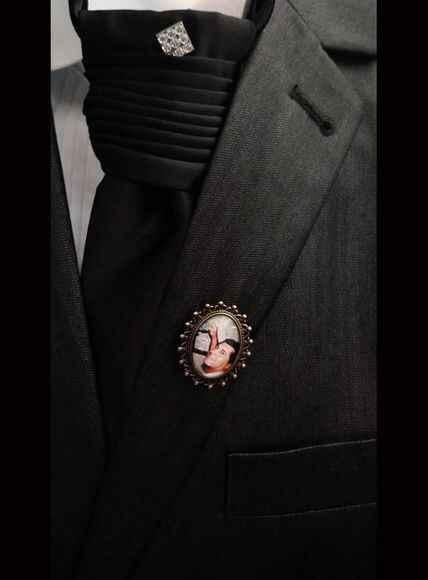 Medalha para o noivo - 1