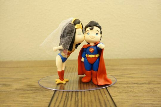 Tema super homem e super mulher. - 2