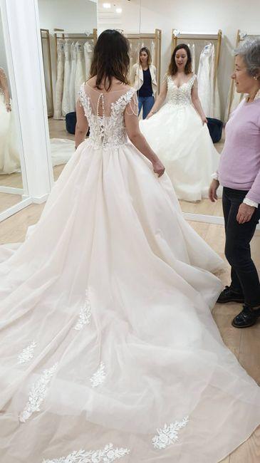 ...and the bride wore pink - o processo da escolha do vestido 3