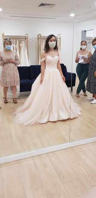 ...and the bride wore pink - o processo da escolha do vestido 4