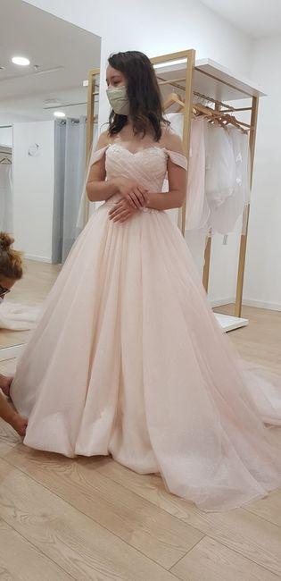 ...and the bride wore pink - o processo da escolha do vestido 5