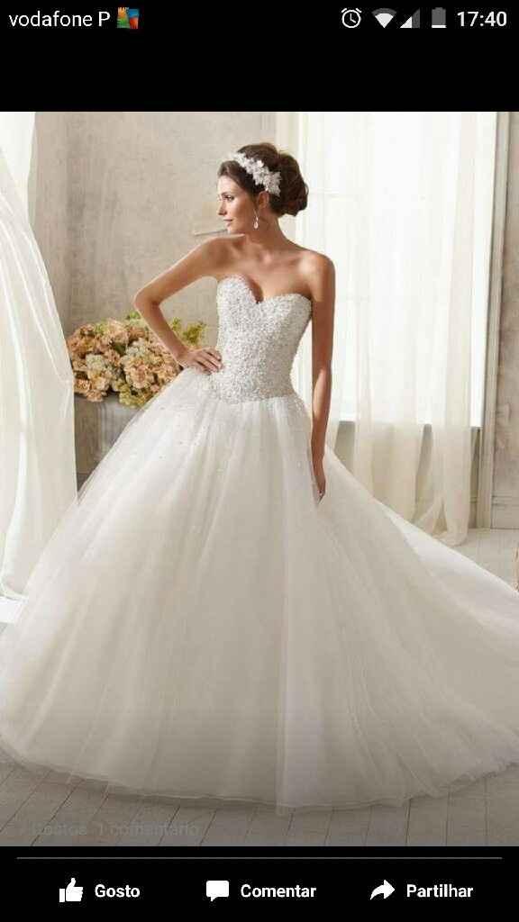 Qual foi o primeiro vestido de noiva que vos roubou o coração? - 2