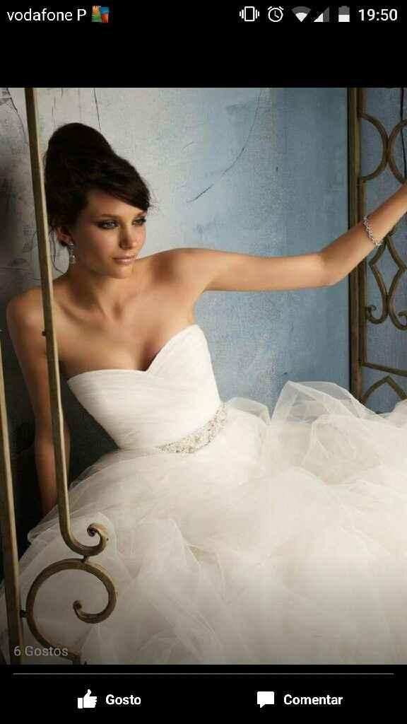 Qual foi o primeiro vestido de noiva que vos roubou o coração? - 3