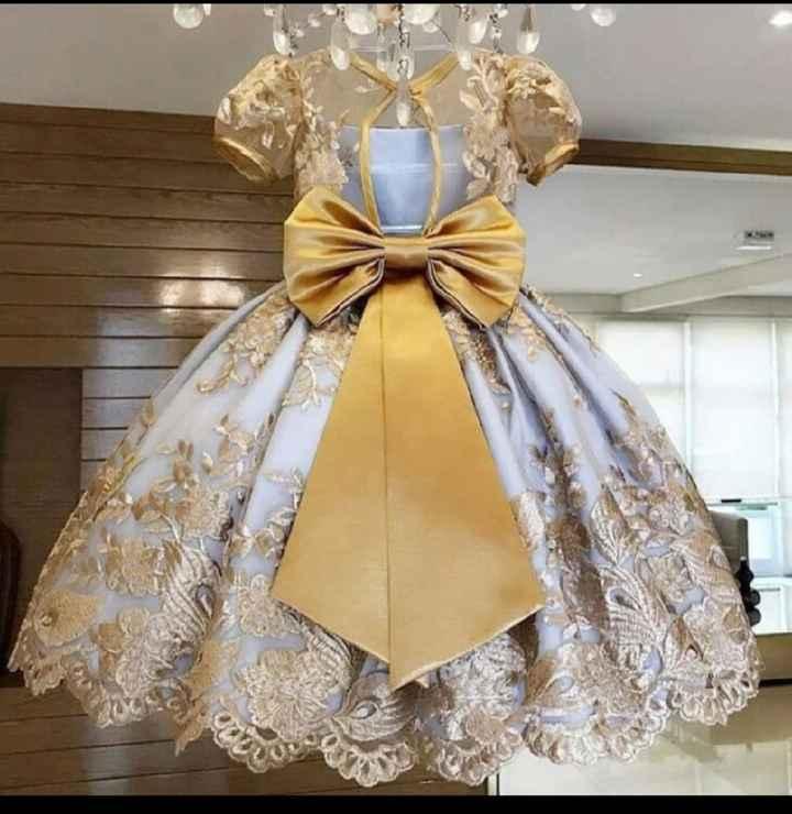 Vestidos das daminhas - 1